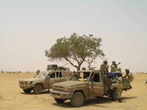 Rebels of the Justice and Equality Movement in North Darfur